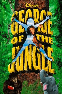 George of the Jungle movie poster.