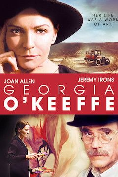 Georgia O'Keeffe movie poster.