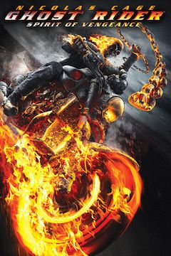 Ghost Rider: Spirit of Vengeance movie poster.