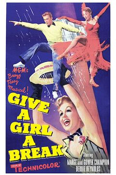 Give a Girl a Break movie poster.