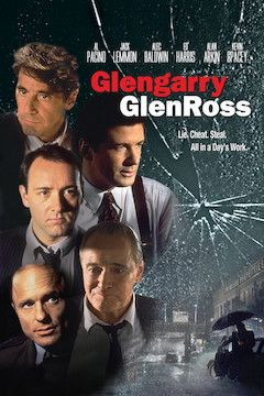 Glengarry Glen Ross movie poster.