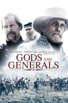 Gods and Generals movie poster.