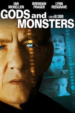 Gods and Monsters movie poster.