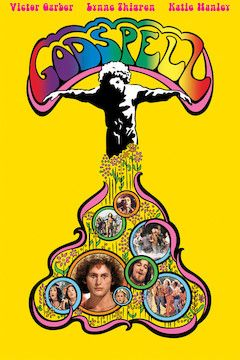 Godspell movie poster.