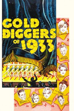 Gold Diggers of 1933 movie poster.