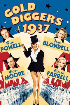 Poster for the movie Gold Diggers of 1937
