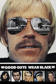 Good Guys Wear Black movie poster.