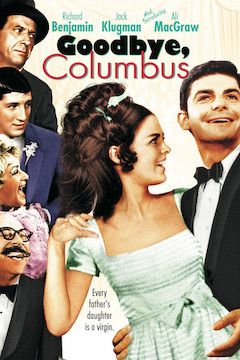 Goodbye Columbus movie poster.