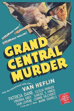 Grand Central Murder movie poster.