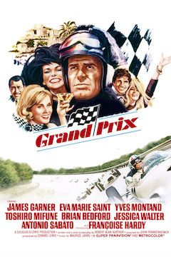 Grand Prix movie poster.