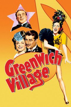 Greenwich Village movie poster.