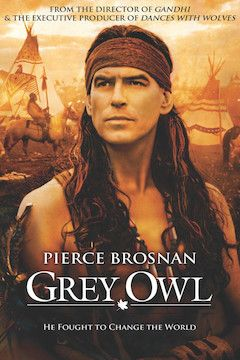 Grey Owl movie poster.