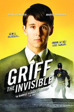 Griff the Invisible movie poster.