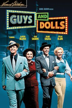 Guys and Dolls movie poster.