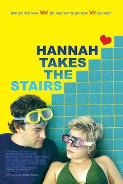 Hannah Takes the Stairs movie poster.