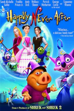 Happily N'Ever After movie poster.