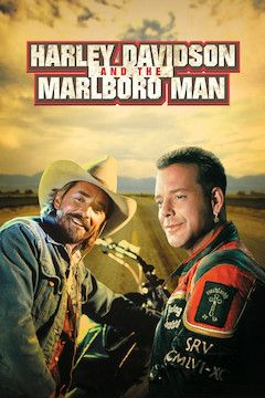 Harley Davidson and the Marlboro Man movie poster.