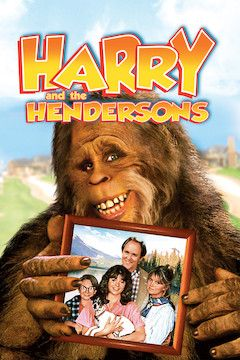 Harry and the Hendersons movie poster.