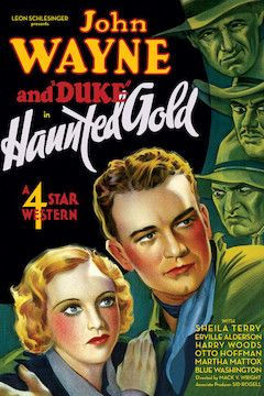 Poster for the movie Haunted Gold