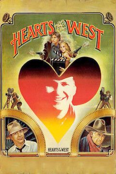 Hearts of the West movie poster.