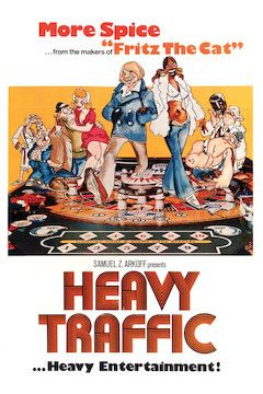 Heavy Traffic movie poster.