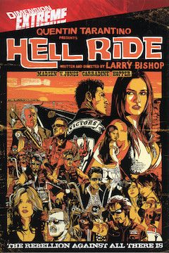 Hell Ride movie poster.