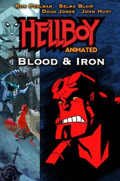 Hellboy: Blood and Iron movie poster.
