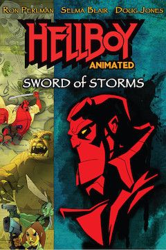 Hellboy: Sword of Storms movie poster.