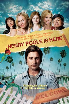 Henry Poole Is Here movie poster.