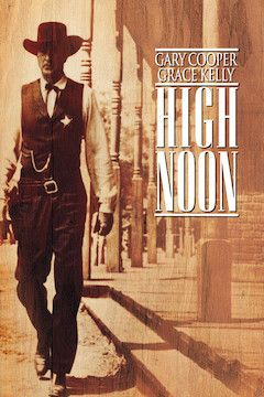 High Noon movie poster.