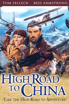 High Road to China movie poster.