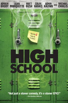 High School movie poster.