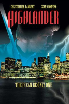 Poster for the movie Highlander