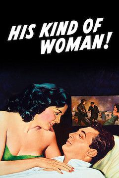 His Kind of Woman movie poster.
