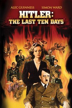 Poster for the movie Hitler: The Last Ten Days