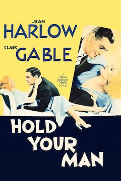 Hold Your Man movie poster.