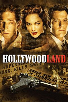 Hollywoodland movie poster.