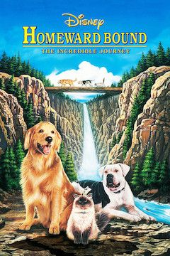 Homeward Bound: The Incredible Journey movie poster.