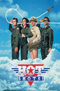 Poster for the movie Hot Shots!