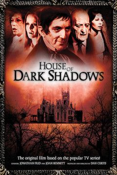 House of Dark Shadows movie poster.