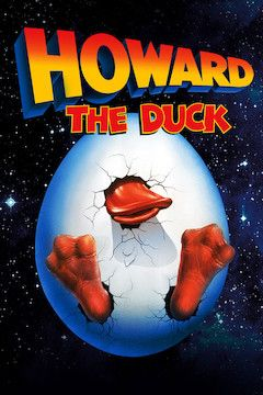 Howard the Duck movie poster.