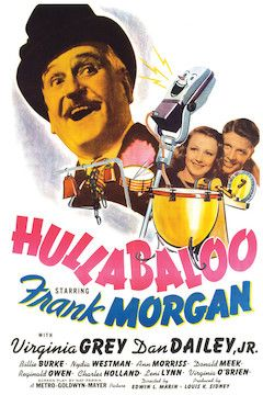 Poster for the movie Hullabaloo