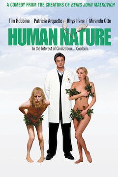Human Nature movie poster.