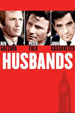 Husbands movie poster.