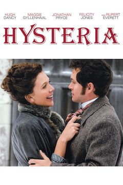 Hysteria movie poster.