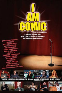 I Am Comic movie poster.