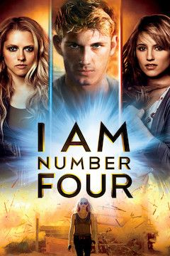 I Am Number Four movie poster.