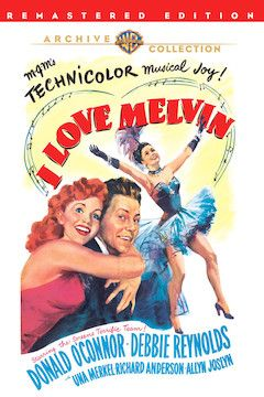 I Love Melvin movie poster.
