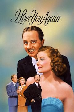 I Love You Again movie poster.