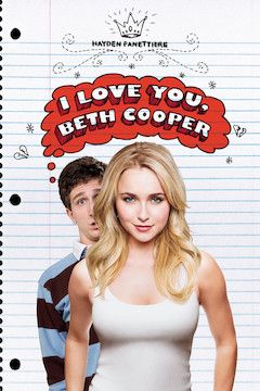 I Love You, Beth Cooper movie poster.